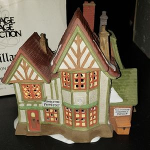 "Dept.56 Dickens Village Series ""Hembleton Pewterer"